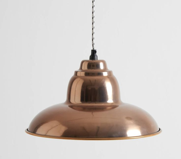 Rose Gold Steel Pendant Light