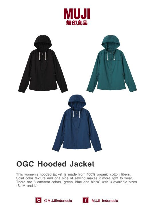 Organic Cotton Hooded Jacket