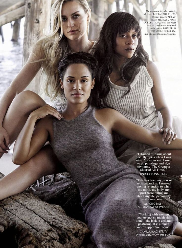 """MKC Bias Mohair sweater dress """"This is 30"""" by Mark Seliger for ELLE US September…"""