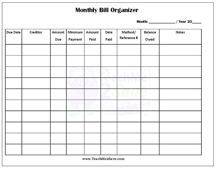 pin by elizabeth casey prudente on organizing bills