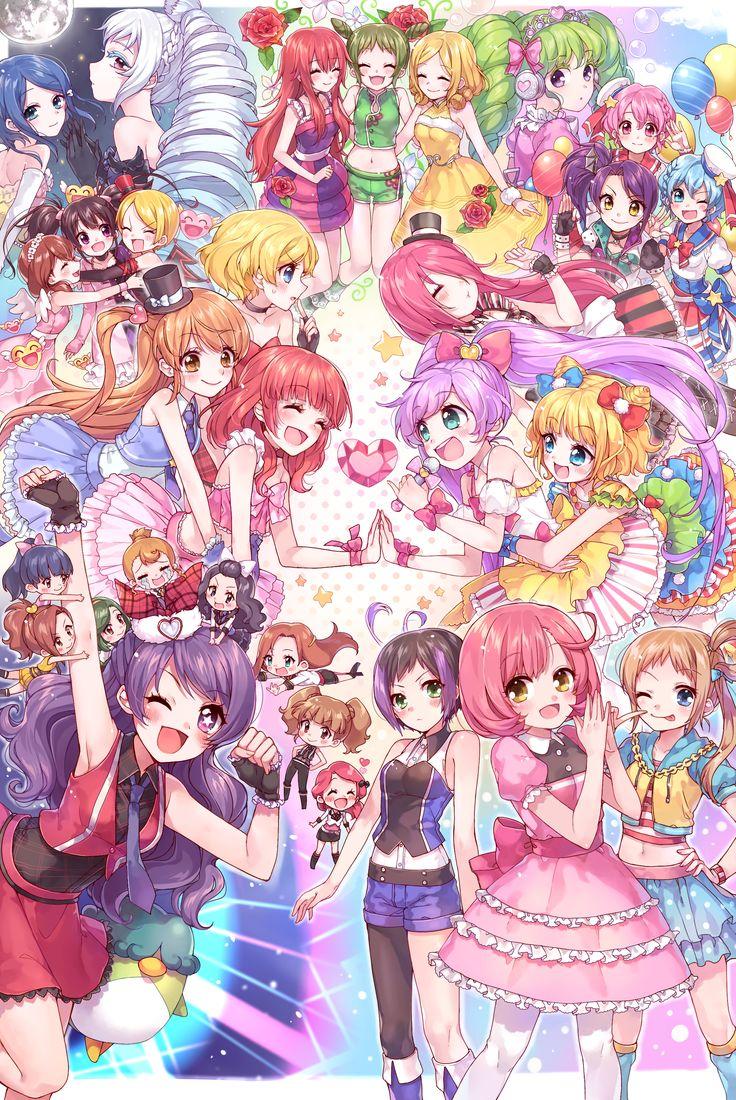 Anime crossover galore <3