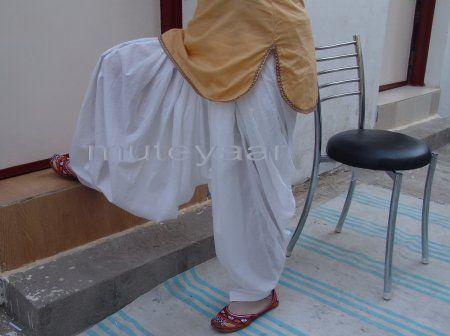 100% PURE COTTON PATIALA SALWAR shalwar from Patiyala city !!