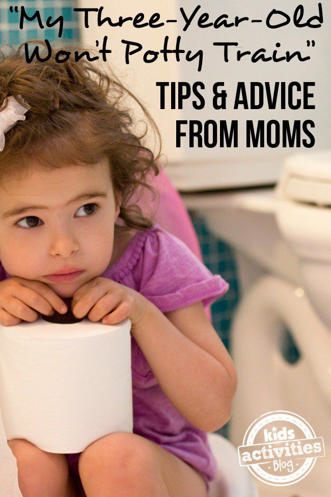 Potty training tips for your 3-year-old from REAL moms