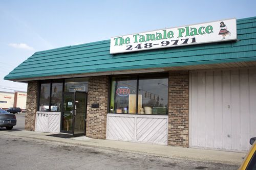 The Tamale Place, variety of tamales, Indianapolis, IN