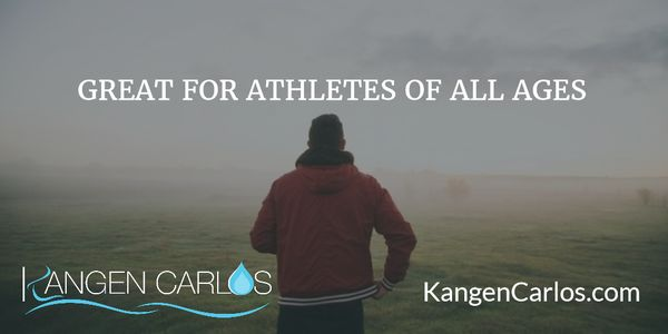 Good for you, great for athletes! #Hydrate properly with #KangenWater  Oder online at http://www.KangenCarlos.com