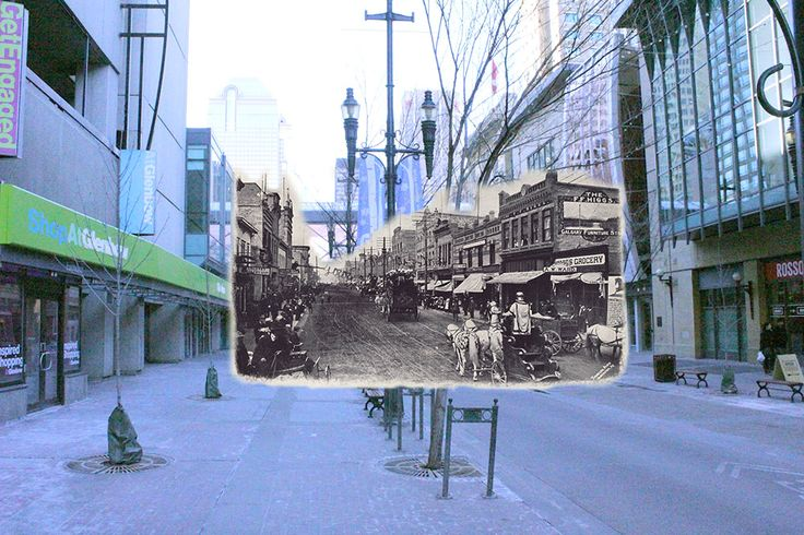 See how a century of development has led to modern day 8th Avenue.