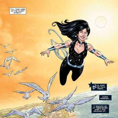 Donna Troy screenshots, images and pictures - Comic Vine