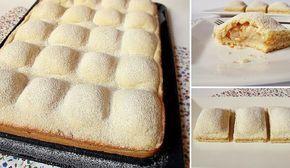 Koláčik ľahučký ako perinka. A pod ňou sa ukrýva štedrá porica sladkých jabĺčok a škorice. Doprajte si vynikajúci dezert k popoludňajšej kávičke, ktorý pripravíte jedna radosť! :-) Potrebujeme: Cesto: 500 g hladkej múky 200 g krupicového cukru 2 vajcia 250 g zmäknutého masla ¼ lyžič