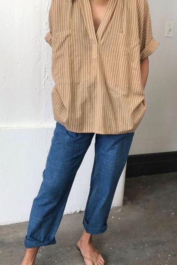 10+ Frühlingsoutfits mit Jeans