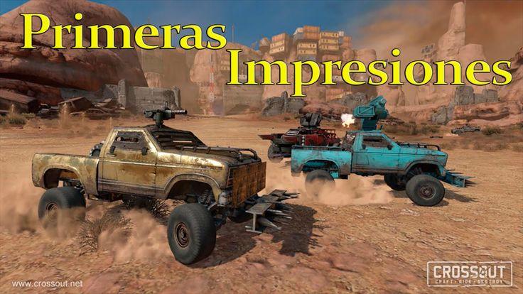 Crossout Beta Tutorial con Bots Gameplay Español