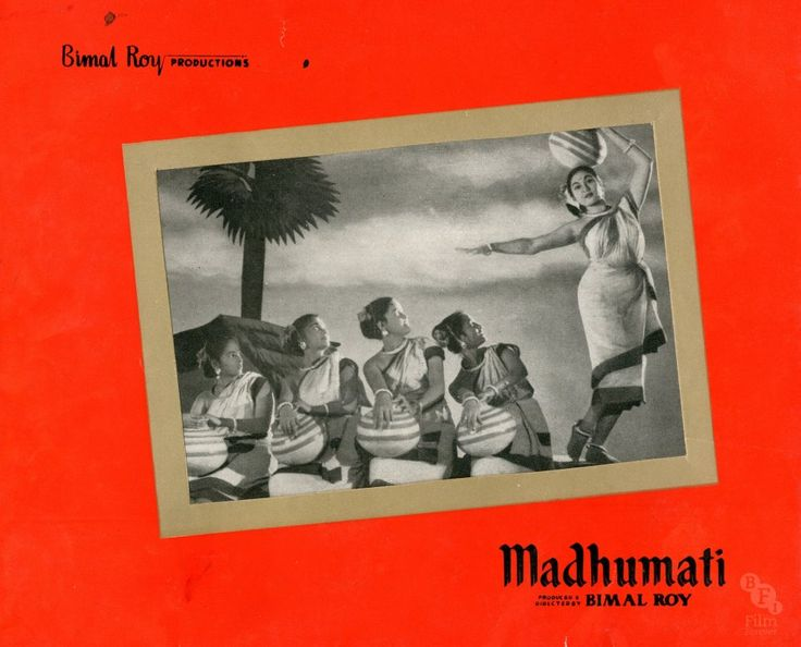Madhumati (1958) Director Bimal Roy's biggest hit is a gothic-style ghost story in which a young man shelters in an old mansion and experiences flashbacks to a past life and a lost love, Madhumati. The film features one of the best, and best-loved, scores of Hindi cinema Credit: BFI National Archive