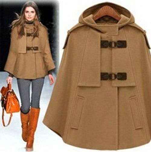 Love the cloak, boots & bag!!! Fashionable Cloaks and Coats for Fall 2013