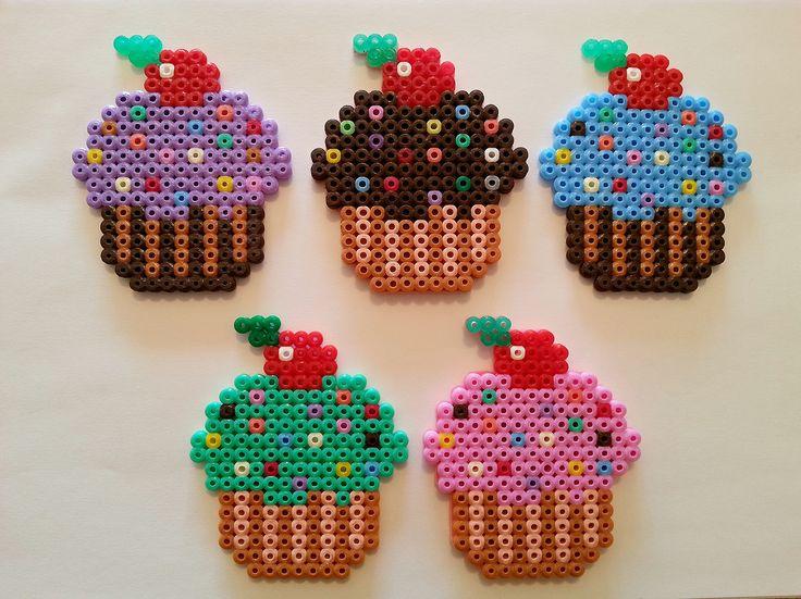 Cupcakes #hamabeads