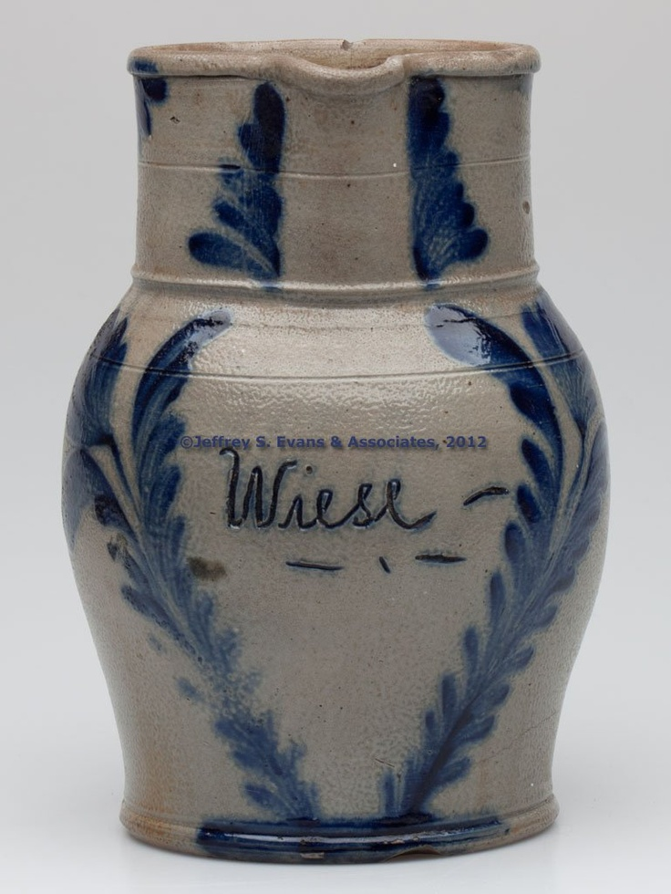 PHILADELPHIA, PENNSYLVANIA DECORATED STONEWARE PRESENTATION ...