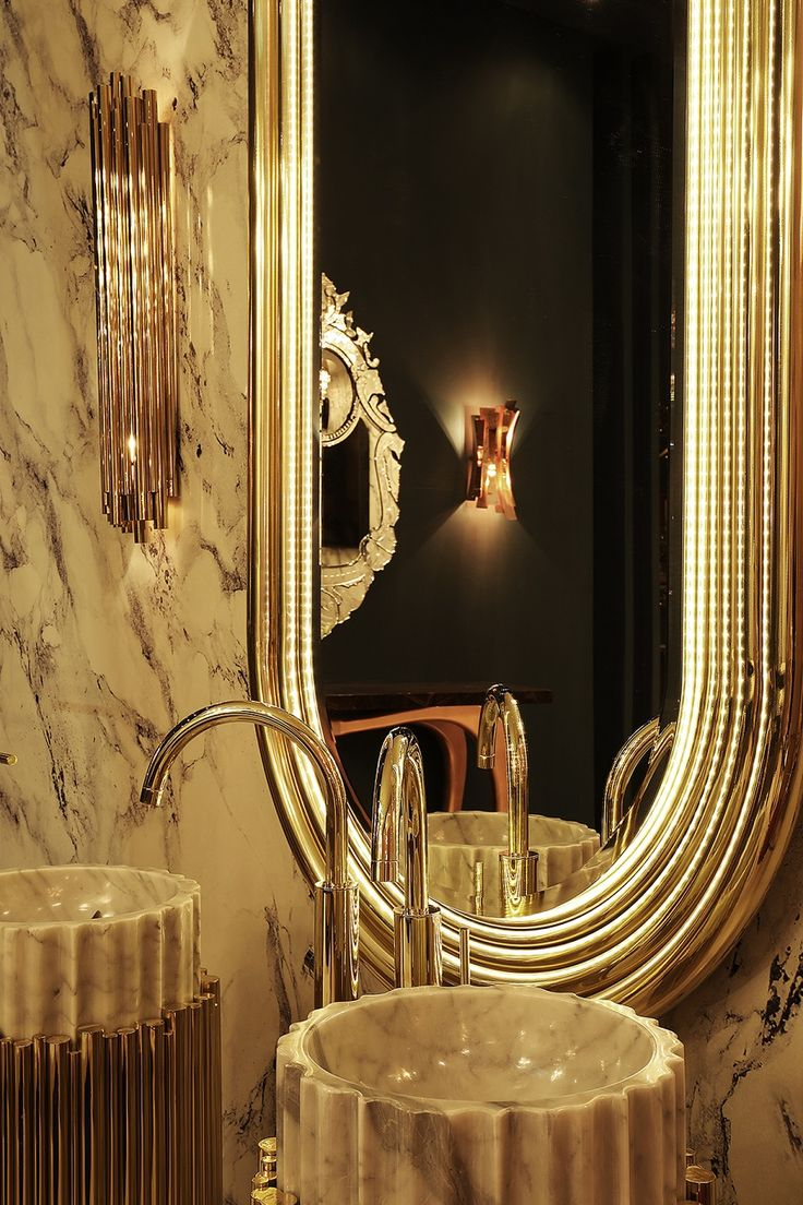 Enter The Radiant World of Maison Valentina At Salone del Mobile 2017 ➤To see more Luxury Bathroom ideas visit us at www.luxurybathrooms.eu #bathroom #homedecorideas #bathroomideas @BathroomsLuxury