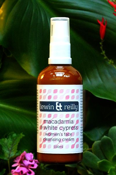 lewin & reilly organic & wild harvested skin care  Handcrafted in Melbourne, Australia   Women's face cleansing cream, macadamia & white cypress   http://www.lewinandreilly.com.au/collections/all/products/macadamia-white-cypress-womens-face-cleansing-cream