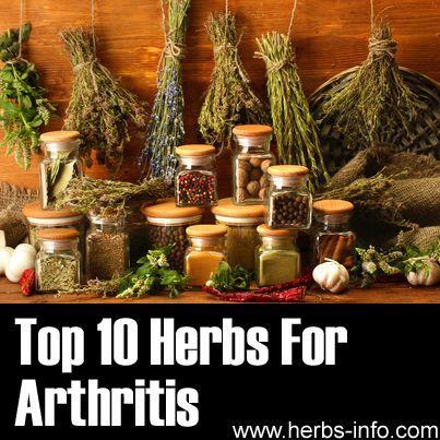 Top 10 Herbs For Arthritis