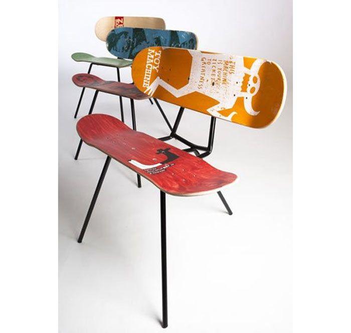 Skateboard Bedroom Furniture 68 best skateboard furniture images on pinterest | skateboard