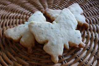 Lavender Shortbread recipe - reportedly Kate Middleton's morning sickness treatment.