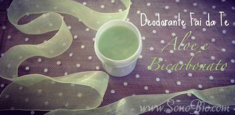 Il deodorante fai da te aloe e bicarbonato è una ricetta facile per realizzare in casa un deodorante effice e a basso costo. Guarda il videotutorial!