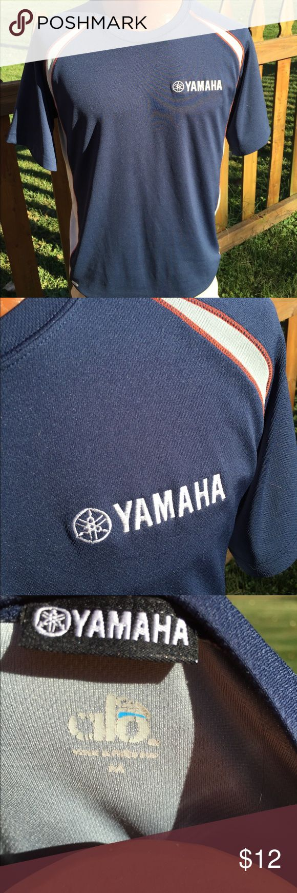Yamaha Mens Shirt Size Medium Size medium. Super gently preowned. Be sure to view the other items in our closet. We offer  women's, Mens and kids items in a variety of sizes. Bundle and save!! We love reasonable offers!! Thank you for viewing our item!! yamaha Shirts