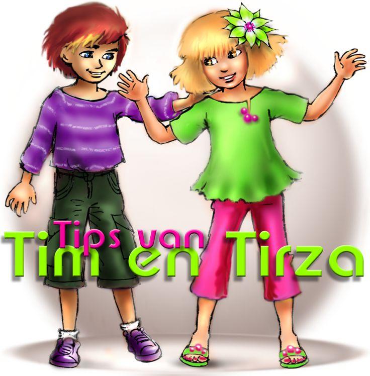 Tips van TIM EN TIRZA ***** Een tweedelige serie Techniek voor kleuters / Online voorleesverhalen.