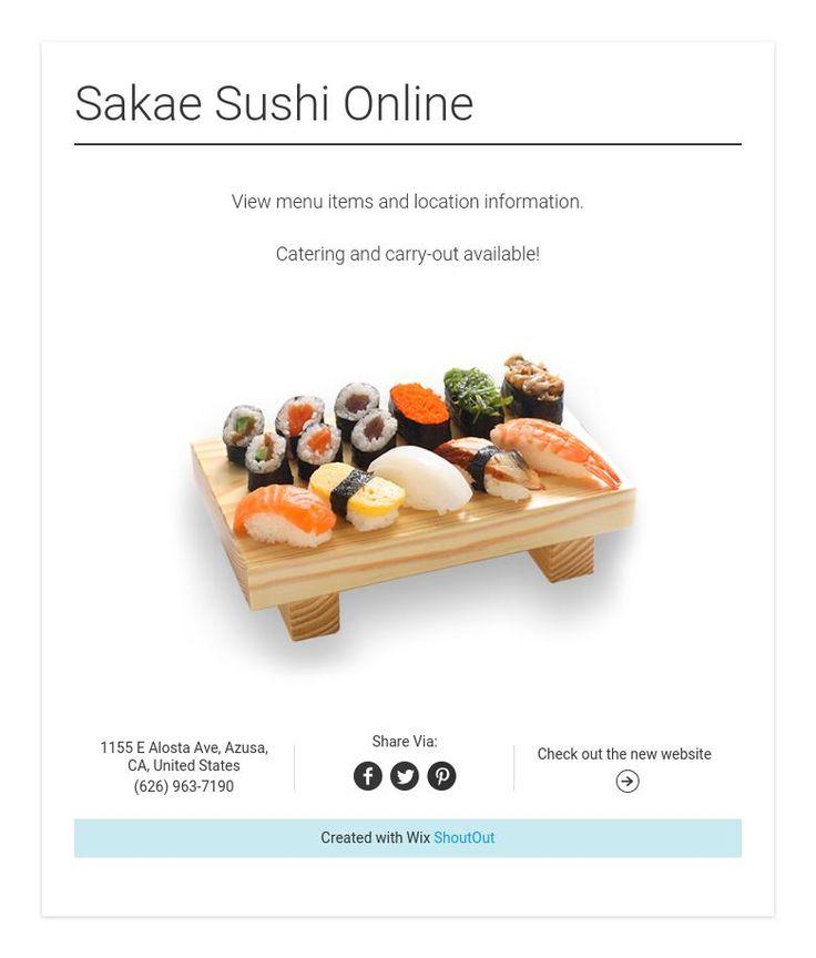 Sakae Sushi Online
