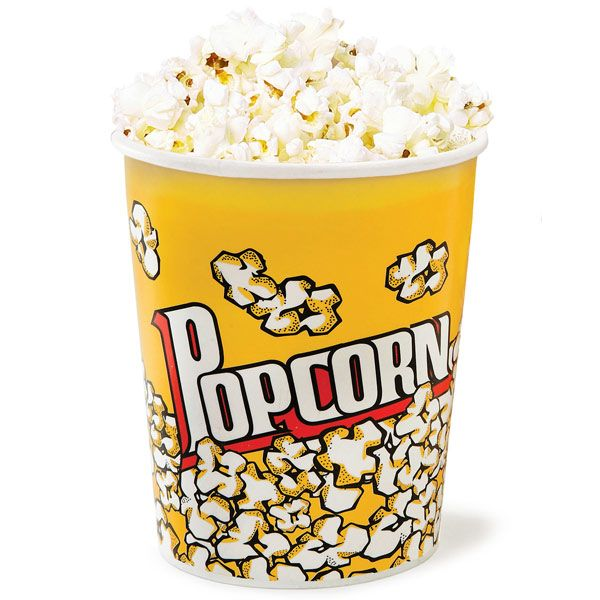 No movie night is complete without the customary popcorn, ideal for adding a classic cinema look, these Popcorn Cups are truly a family favourite. Perfect for a very generous single serving of salty or sweet treats, these popcorn tubs are the ultimate way