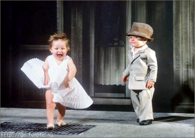 the cutest thing ever!: Little Girls, Marilyn Monroe, Movies Stars, Belly Laughing, Baby Style, Photo, Memorial Mornings, Kid, Frank Sinatra