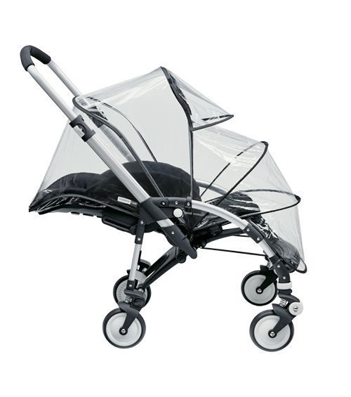 NEW! BUGABOO BEE STROLLER 2007-2009 RAIN COVER CANOPY ACCESSORIES BLACK CLEAR 8717447010104 | eBay