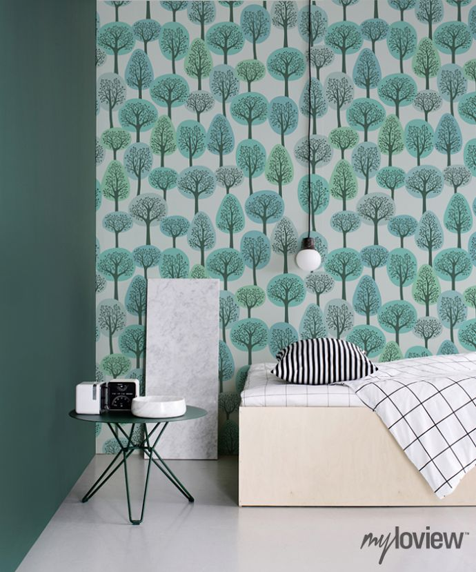 papier peint tendance salon papier peint g om trique la. Black Bedroom Furniture Sets. Home Design Ideas