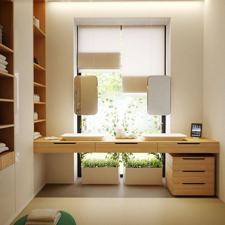 Contemporary Private Apartment - Hungary / bathroom