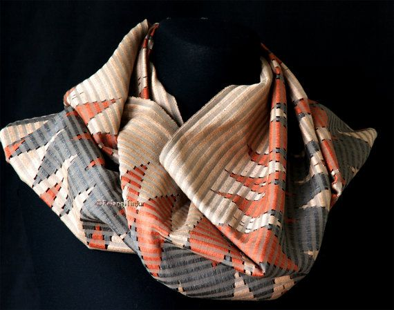 Handwoven Balinese Rangrang Scarf Silk/Cotton Mix by PelangiTimur, £65.00