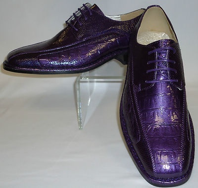 purple mens shoes