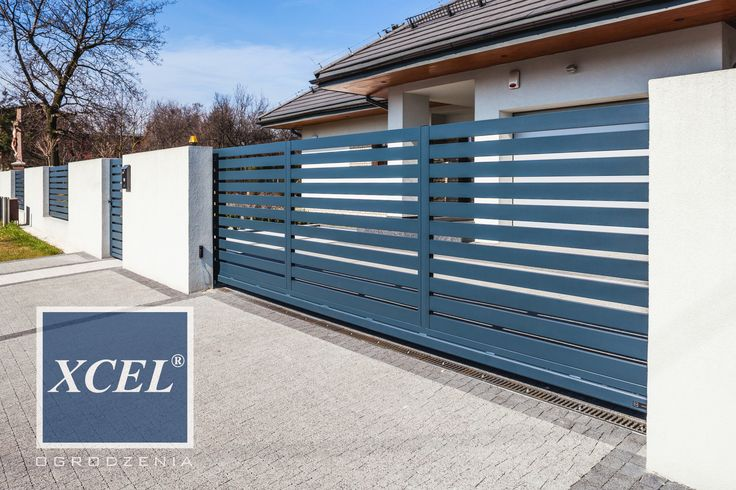 nowoczesne ogrodzenie aluminiowe katowice xcel horizon