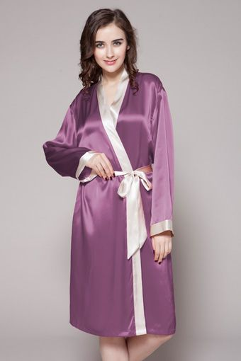 74 best Ladies Natural Silk Robes images on Pinterest | Robe, Robes ...
