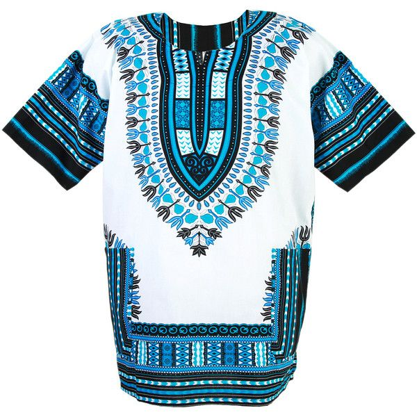 African Dashiki Mexican Poncho Hippie Tribal Ethic Boho Shirt White... ($14,950) ❤ liked on Polyvore featuring hippie poncho, tribal poncho and white poncho