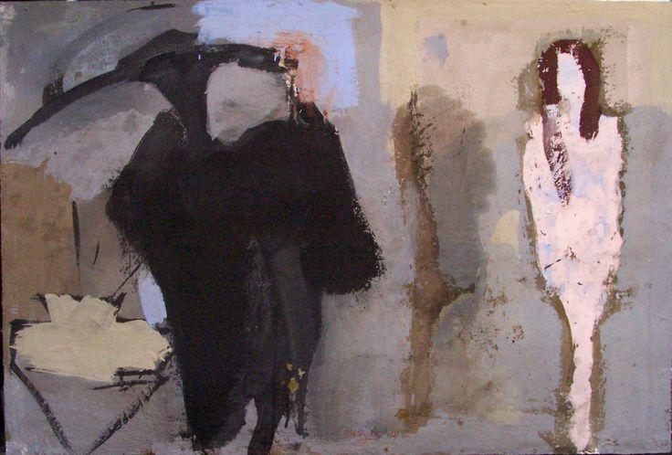 mia opera titolo il pittore e modella