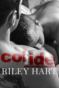 Collide by Riley Hart ★★★★1/2 by Barb Cover by : unknown