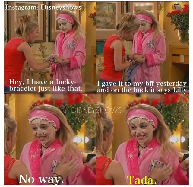 Image result for pinterest hannah montana lilly do you wanna know a secret gif