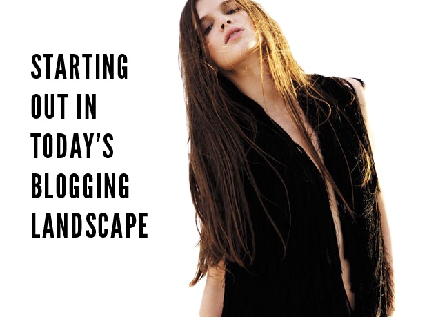 What it's like to start a blog right now.: Blog Landscape