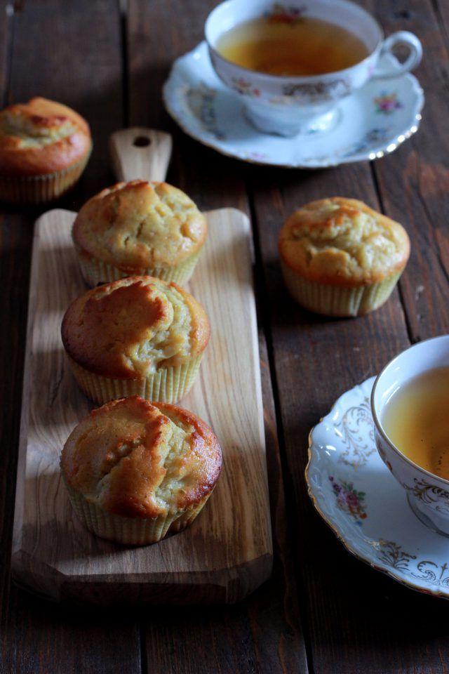 muffin con farina di ceci e mele