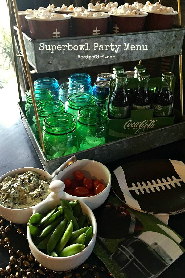 Superbowl Party Menu Recipes at RecipeGirl.com