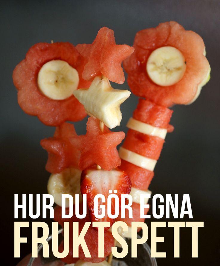 DIY - bjud på härliga fruktspett!