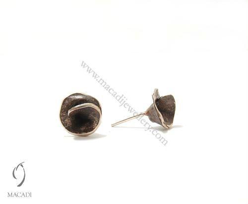Oxidized Cadenza Earrings