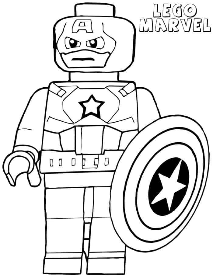 Super Hero Coloring Pages In 2020 Avengers Coloring Pages Lego