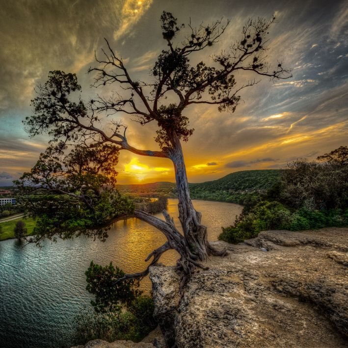 Chasing Sunsets - Austin, TexasGod Creations, Austintx, Nature, The Edging, Austin Texas, Sunris, Chase Sunsets, Austin Tx, Texas Hills Country