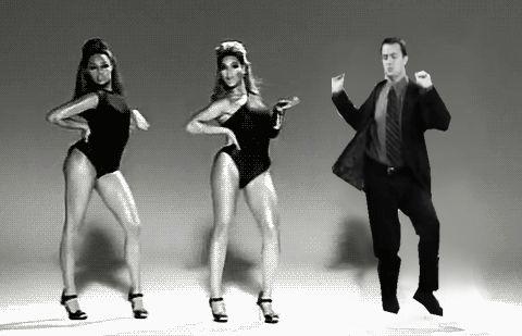 """""""I never run into Beyonce""""—Chandler."""