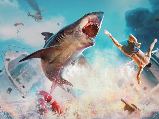 Download 3840x2160 Maneater 4k Wallpaper Games Wallpapers Images Photos And Background For Desktop Windows 10 Macos Fish Wallpaper Iphone Shark Games Shark