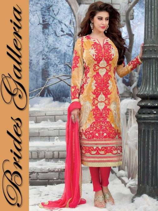 Straight Punjabi Suits Designs 2015 & 2016 for Women | Indian ...